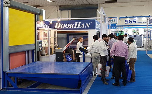 DoorHan Company at India Warehousing Show 2018 in New Delhi